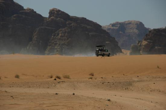 Al Zawaideh Desert Camp at Wadi Rum: Desert Jeep Adventure