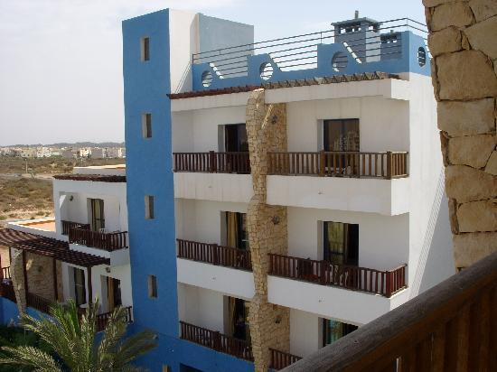 Hotel Residence Rihab : View from the Balcony