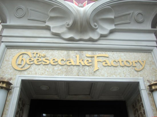 The Cheesecake Factory: Entrance