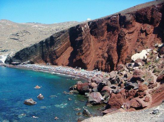 Hotel Leta: la spiaggia rossa