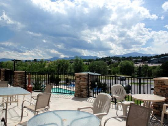 Staybridge Suites Colorado Springs: View from the deck