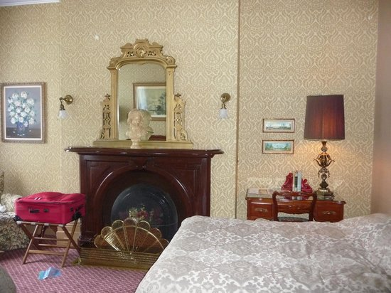 our room at the Hotel Marie Rollet