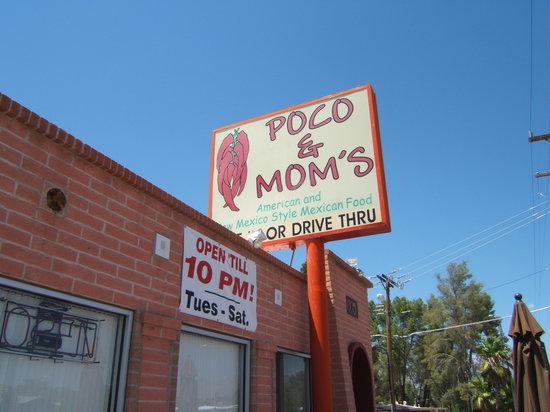 Poco mom 39 s restaurant tucson menu prices for Mt lemmon cabin rentals pet friendly