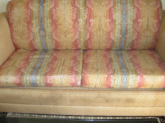 Hotel Riu Palace Punta Cana: Moldy couch