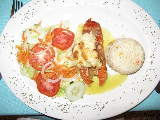 Turquoise Bay Dive Beach Resort Shrimp With Wine And Lime Sauce