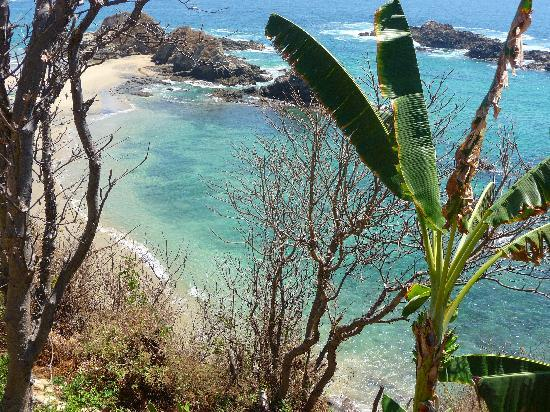 Casa Pan de Miel: petite plage