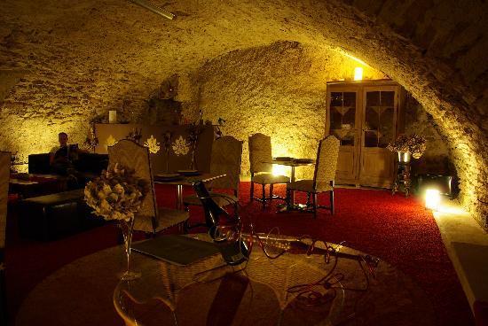 Saint-Romain-de-Lerps, Frankreich: La magnifique salle des dîners