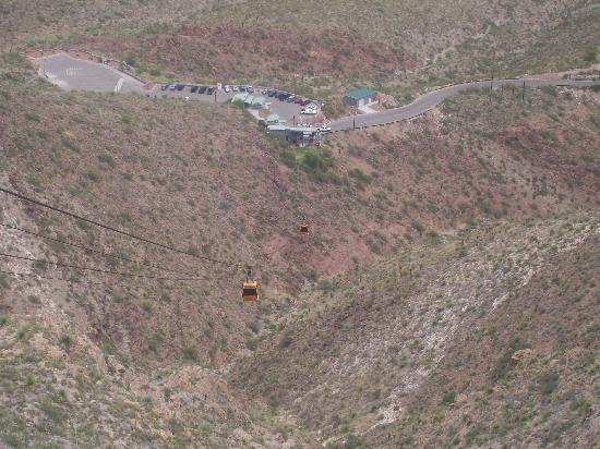 Wyler Aerial Tramway : Tramway from top