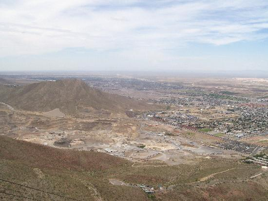 Wyler Aerial Tramway: View from top
