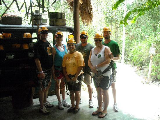 Selvatica: We look good in helmets and harnesses!!!!