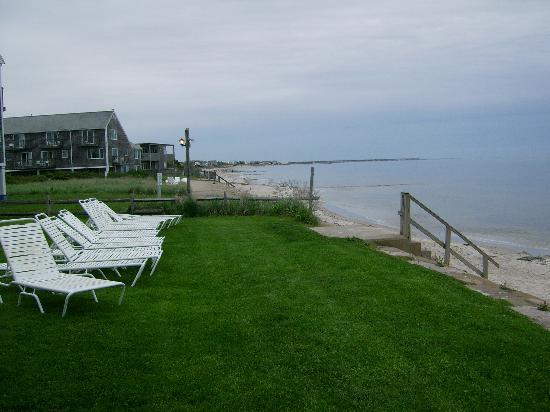Beach House at Bass River : Lounge chairs with a view of the water