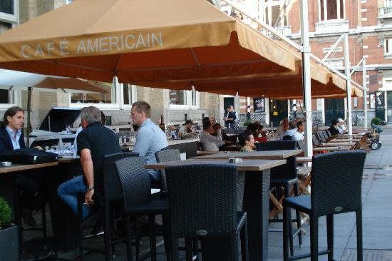 American Hotel Amsterdam: Outside Cafe