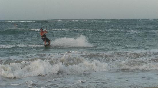 Hotel Kite Beach: Superbe riding spot