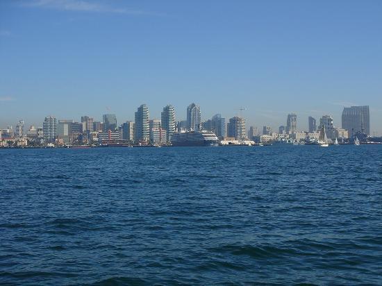 Sail Stars & Stripes USA-11: View of San Diego