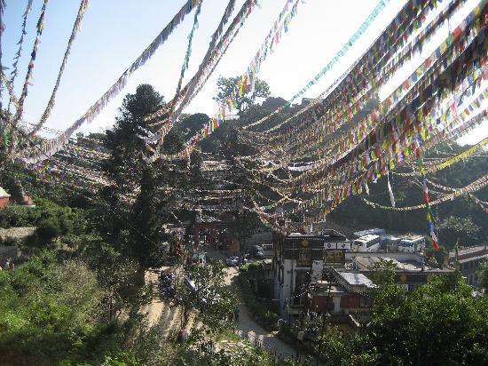 Kathmandu, Nepal: Prayer flags and more pray flags
