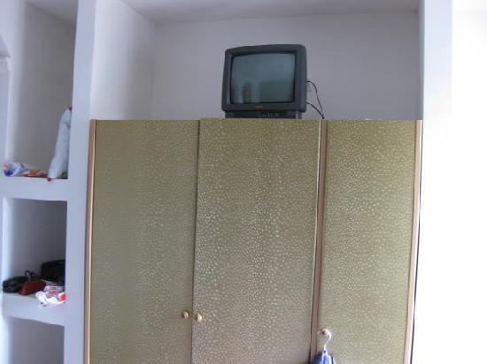 M Glamour Hotel: Fernseher