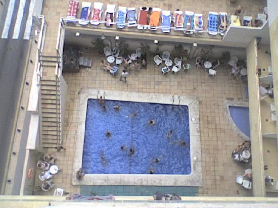 Carlos I Hotel: Hotel desde arriba