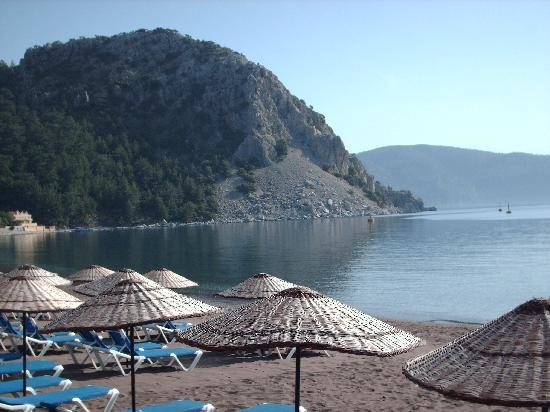 Ozcan Hotel: View from our breakfast table