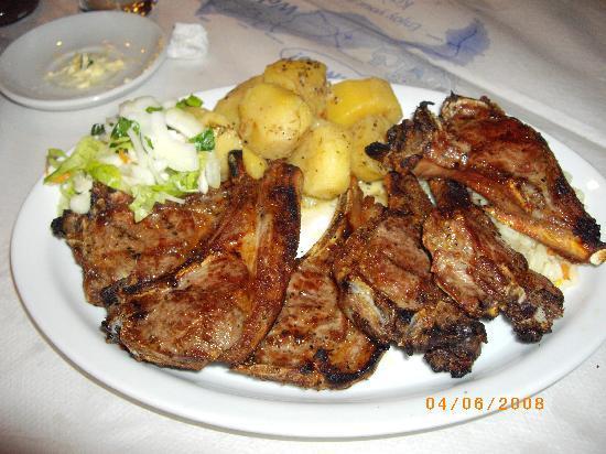 The Caravan Restaurant: Lamb Chops