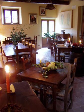 Agriturismo Il Castagnolo: Il Ristorante