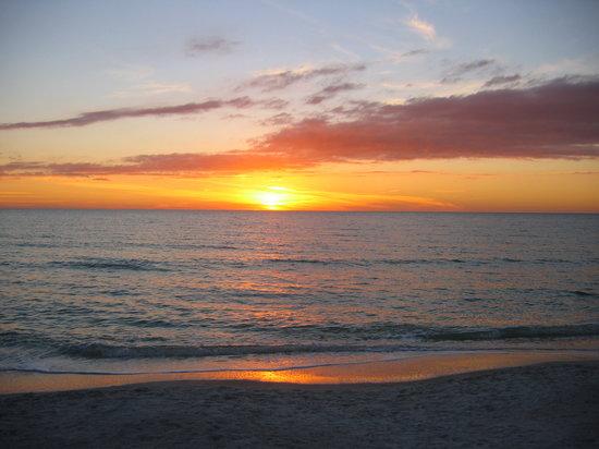 Sarasota, FL: Siesta sunset