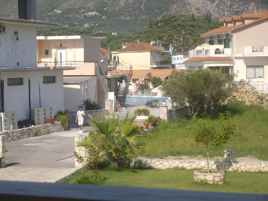 Hotel Letsos: view from balcony