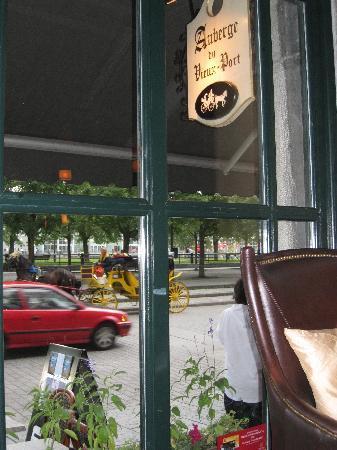 Auberge du Vieux-Port : View from Reception