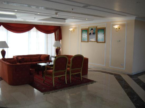 Ashgabat, Turkmenistan: lobby