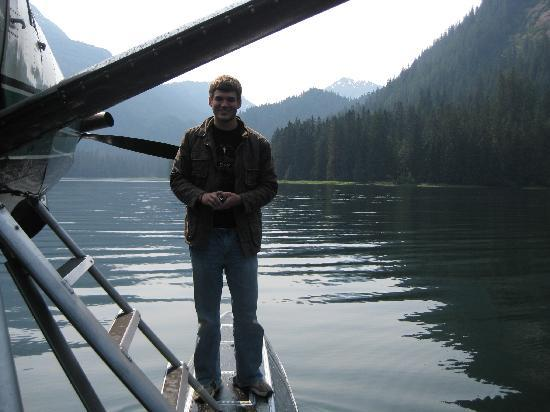 Misty Fjords National Monument: Standing on floats