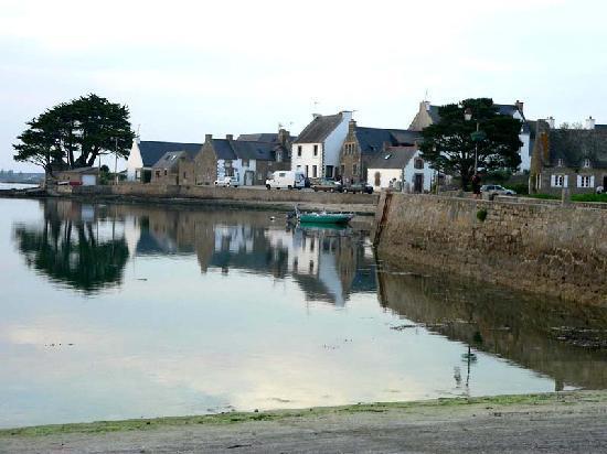 Ile de St. Cado, France: le pont de l'ile de St Cado