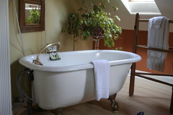 Haydon Street Inn B & B : Turret Room special tub
