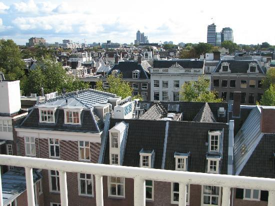NH Amsterdam Schiller: View from our room