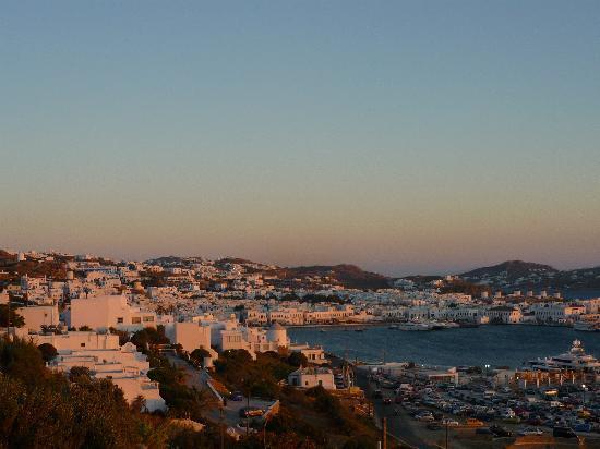Omiros Hotel: La ciudad desde el hotel