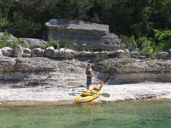 4J River Way Cabins and RV Camp: Fly fishing the frio