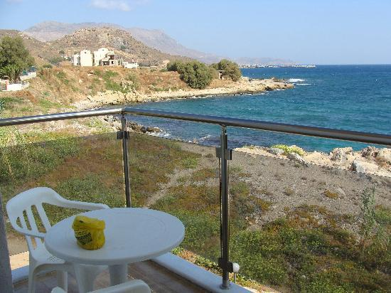 Elena Beach Hotel: vue du balcon