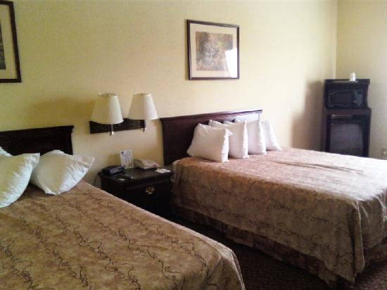 Best Western Teal Lake Inn: Best Western double queen room