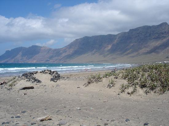 Famara Beach: the perfect view :)