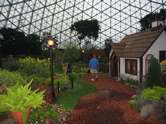 One of the domes picture of mitchell park horticultural for Mitchell s fish market locations