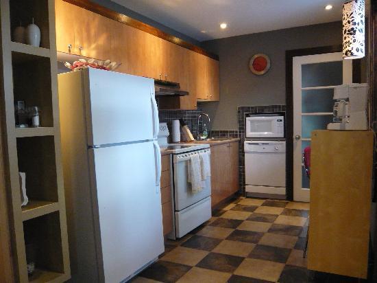 Loft Jacques-Cartier : kitchen