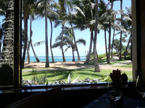 The view from mama fish house picture of hana maui for Mama s fish house maui