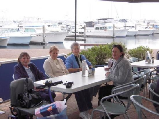 On the Bay Apartments - Bribie Island: Lunch