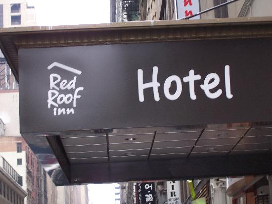 Nyma, The New York Manhattan Hotel: Red Roof Inn