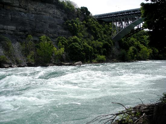 White Water Walk: Down by the Whirlpool Bridge