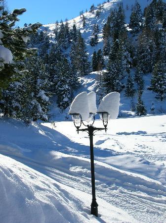 Hotel Hochschober: Winterstimmung auf der Turrach