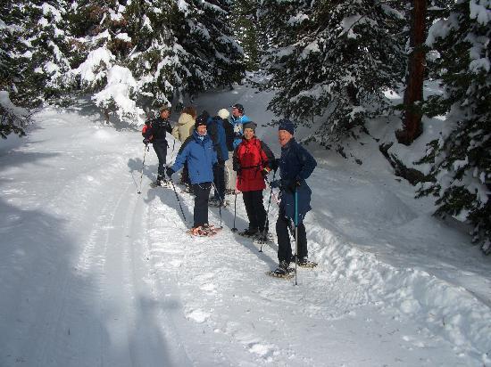 Hotel Hochschober: Schneeschuhwandern mit Herbert