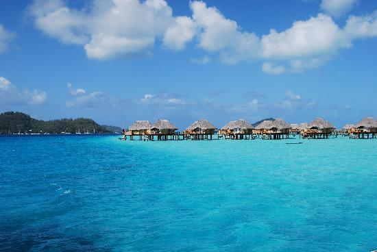 Bora Pearl Beach Resort Spa View From Water Bungalow