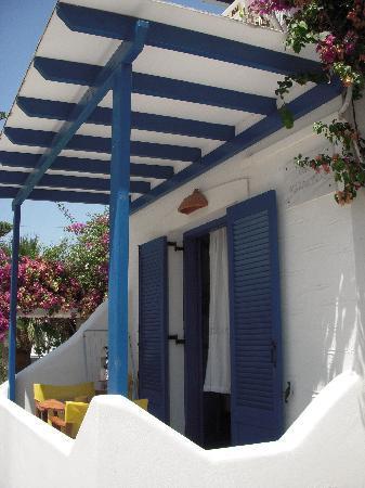 Angie's Studios: notre balcon
