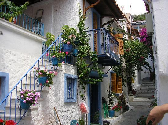 سكياثوس, اليونان: Skiathos Town