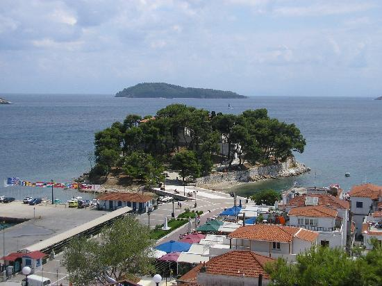 Skiathos, Greece: Old Harbour