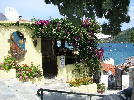 Skiathos, Grecia: Backstreet bar